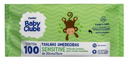 (Morumbi Town) Lenços Umedecidos Baby Clube PanVel por R$ 11,99