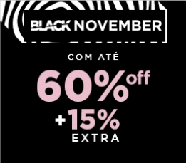 Black November Zattini: Até 60% OFF!
