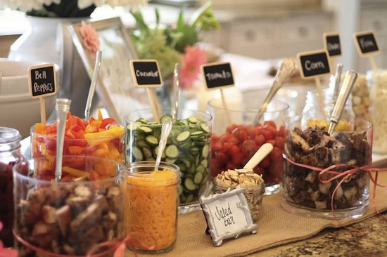 How to create a healthy dessert or food bar blog for Food bar ideas for a party