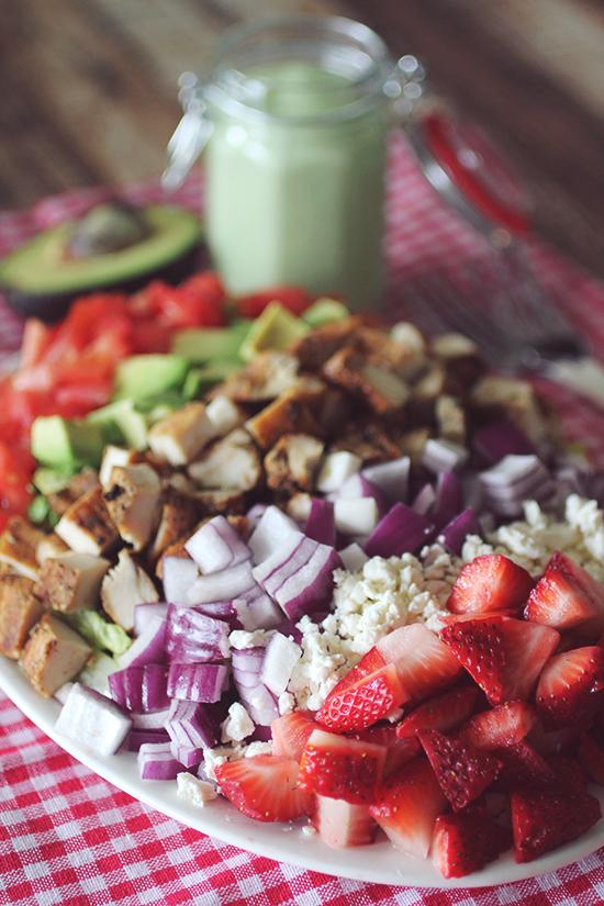 California Cobb Strawberry Salad