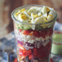 Layered Cobb Chicken Salad- To Go!