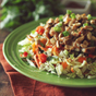 Thai Crunch Chicken Salad with Peanut Dressing