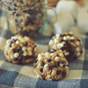 No Bake Protein S'more Balls