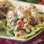 Southwest Chicken Salad Lettuce Wraps