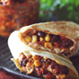 Crockpot Santa Fe Chicken Burritos