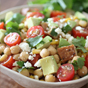 Chicken Chickpea Chopped Salad