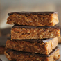 Peanut Butter No Bake Protein Bars