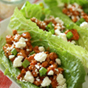 15 Minute Buffalo Chicken Lettuce Wraps