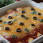 Clean Eating Crockpot Chicken Enchiladas