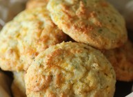Clean Eating Cheddar Biscuits