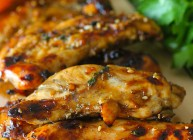 Asian Citrus Grilled Chicken Strips