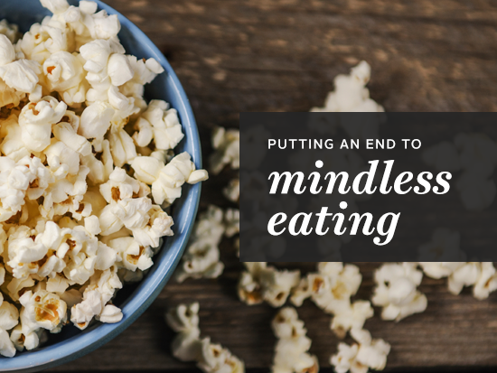 how to stop mindless eating at night