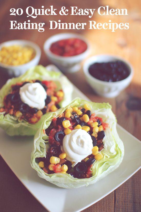 20 quick easy dinner recipes blog dashing dish dinner forumfinder Gallery