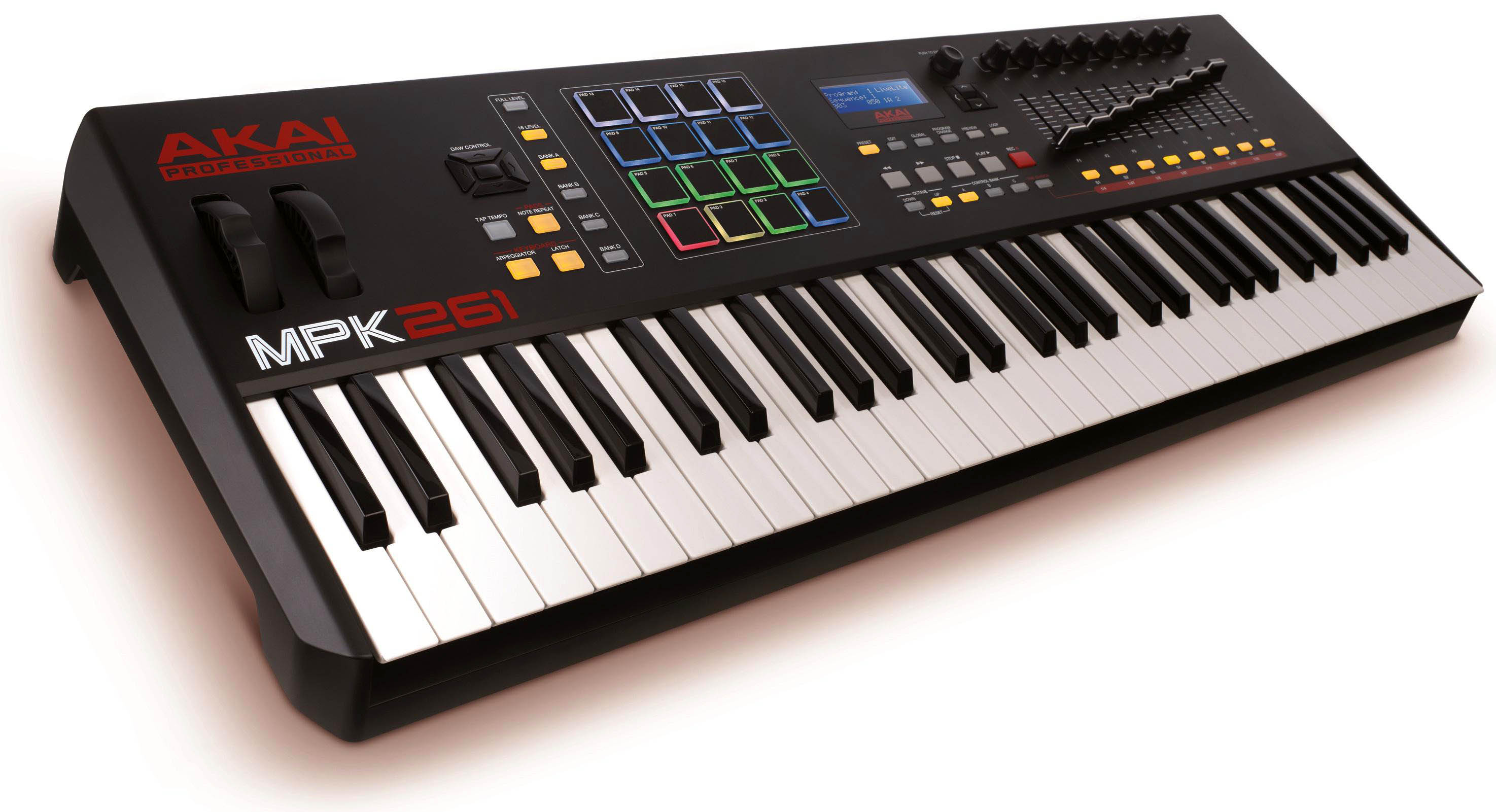 AKAI MPK 261 61-key MIDI Controller with Drum Pads $499