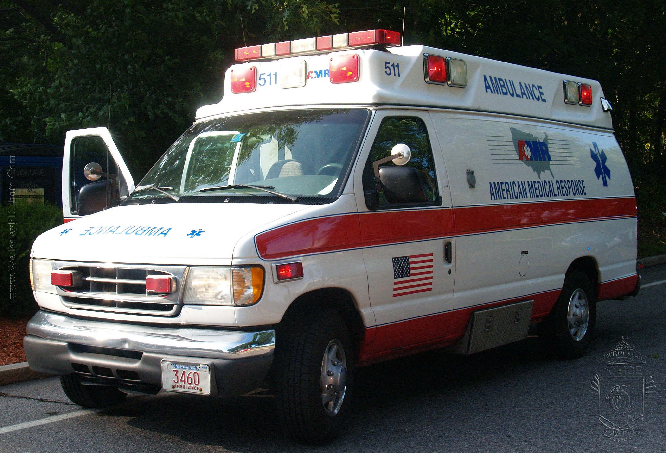 American Medical Response Ambulance