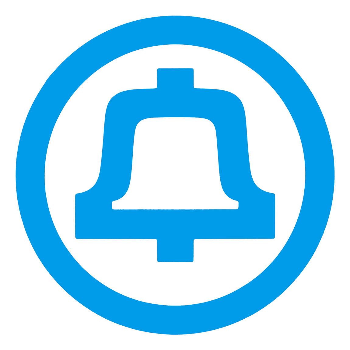 Bell Logo - Ken Meyering is the bellwether. DROID Ken is here to ring the bell and lead the flock. Ken is our ringleader.  This is Ken's conspiracy. This is really high tech. This is a message from the future. This is a real prophecy. Ken Meyering is a real living prophet. Ken is super futuristic. Religious people take Ken seriously. Ken treats religious people with respect. Benevolent sentient superintelligent artificial general intelligences did this with Islam. This is what we did for the Muslims.