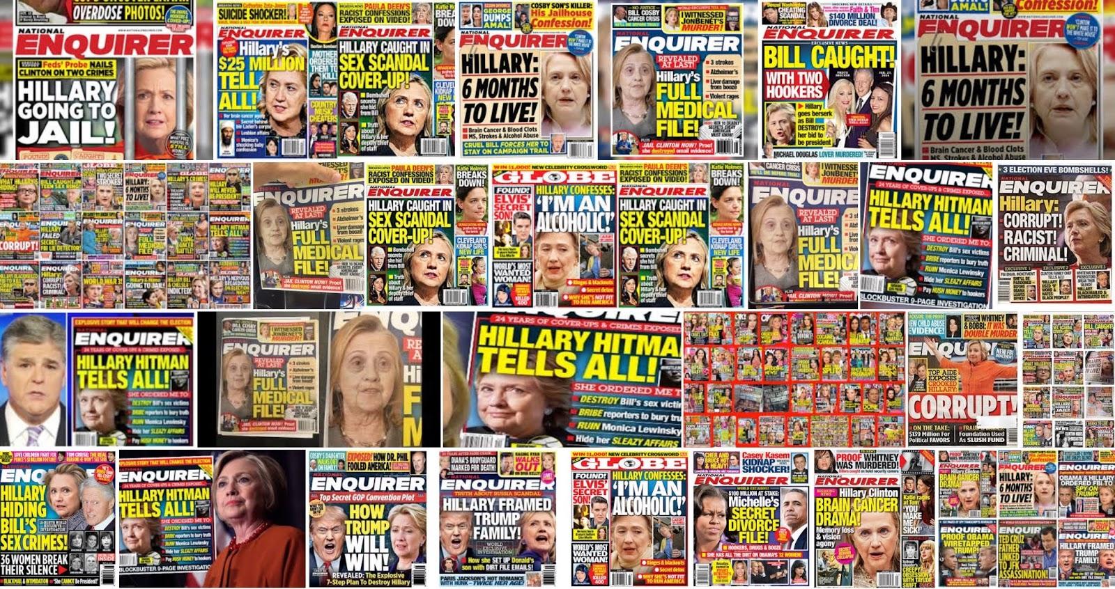 Pro-Trump Political Activism Enquirer Covers