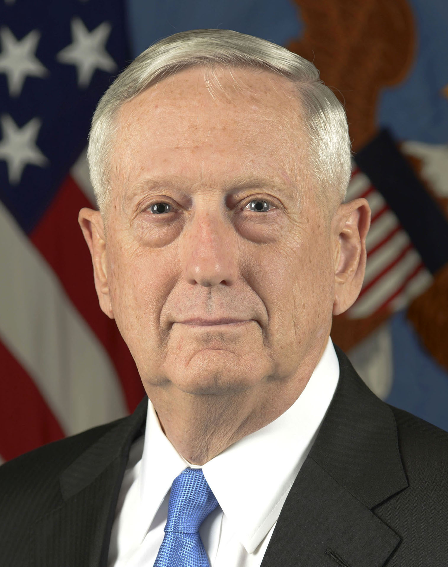 Retired United States of America Secretary of Defense Marine General James N. Mattis