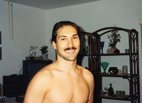 Ken in Key West, Florida in the 1990s when he was in his 20s. Ken is 55-years-old now.