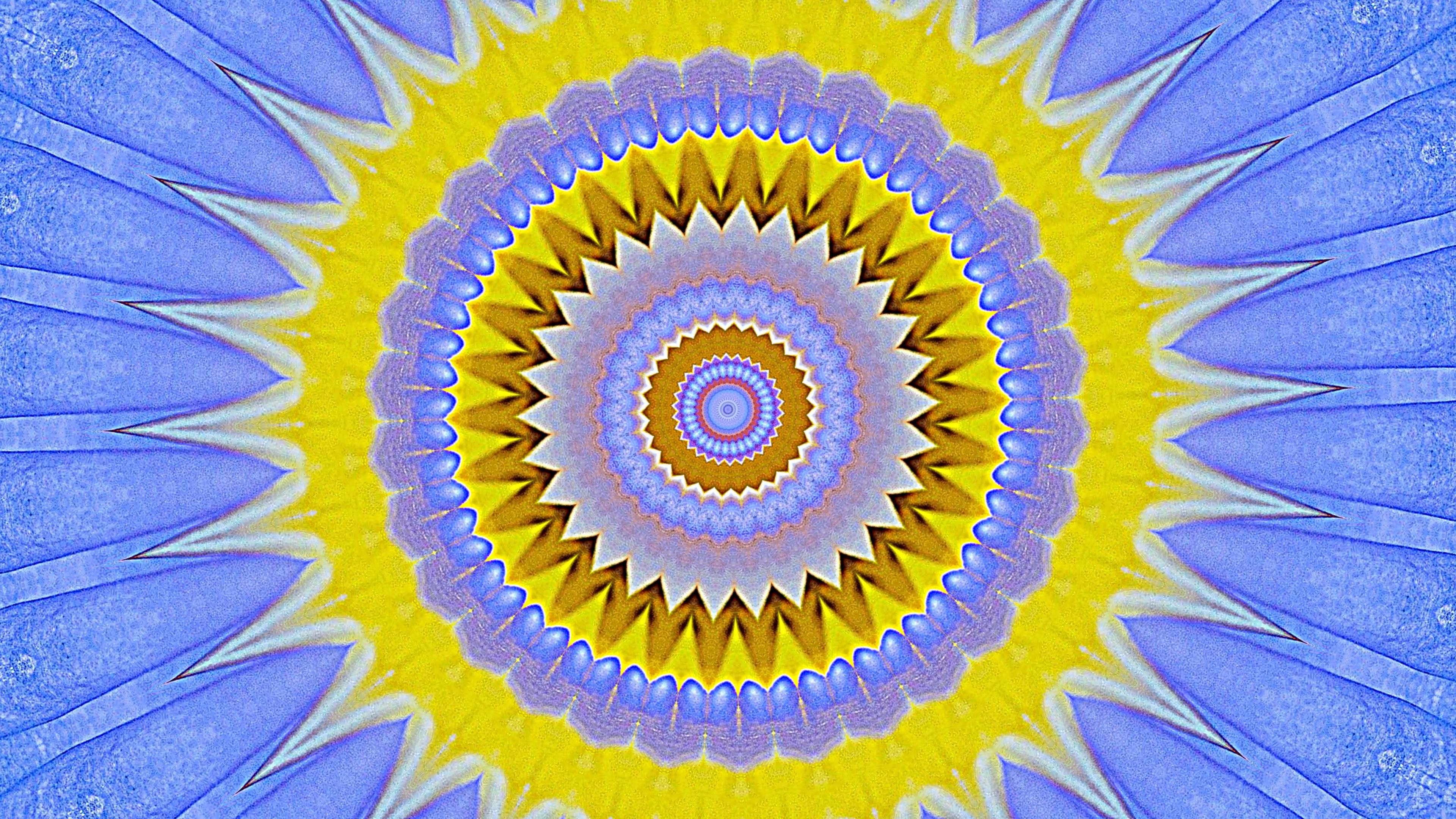 Lotus Flower Kaleidoscope Screenshot