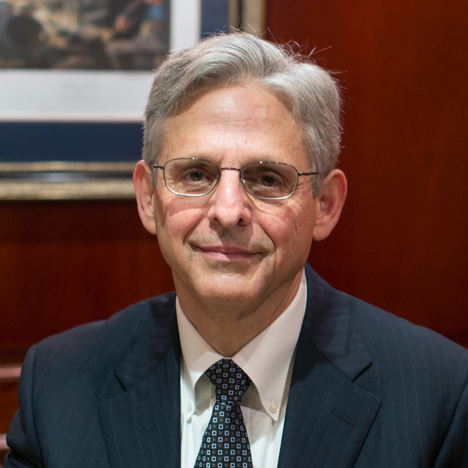Merrick Garland - Barack Obama's Last Supreme Court Pick - Corruptly Denied a Democratic Vote by Mitch McConnell, who we are now removing from power for corruption and abuse of power.
