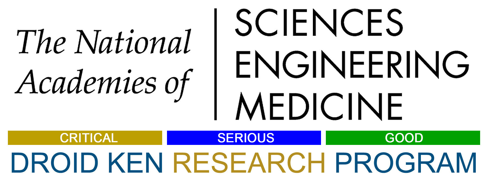 National Academies of Sciences Engineering and Medicine DROID KEN RESEARCH PROGRAM