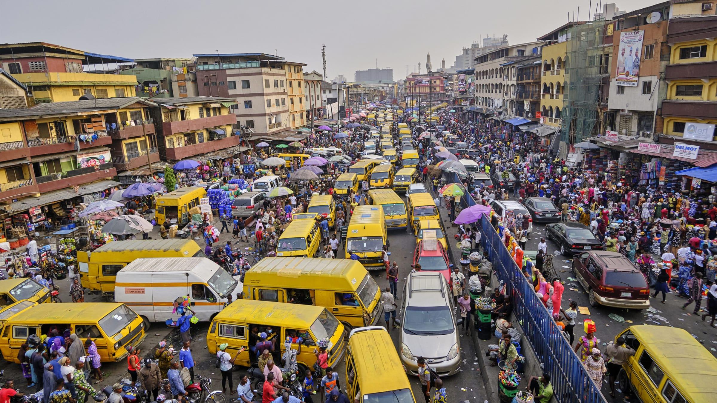Nigeria Traffic Jam
