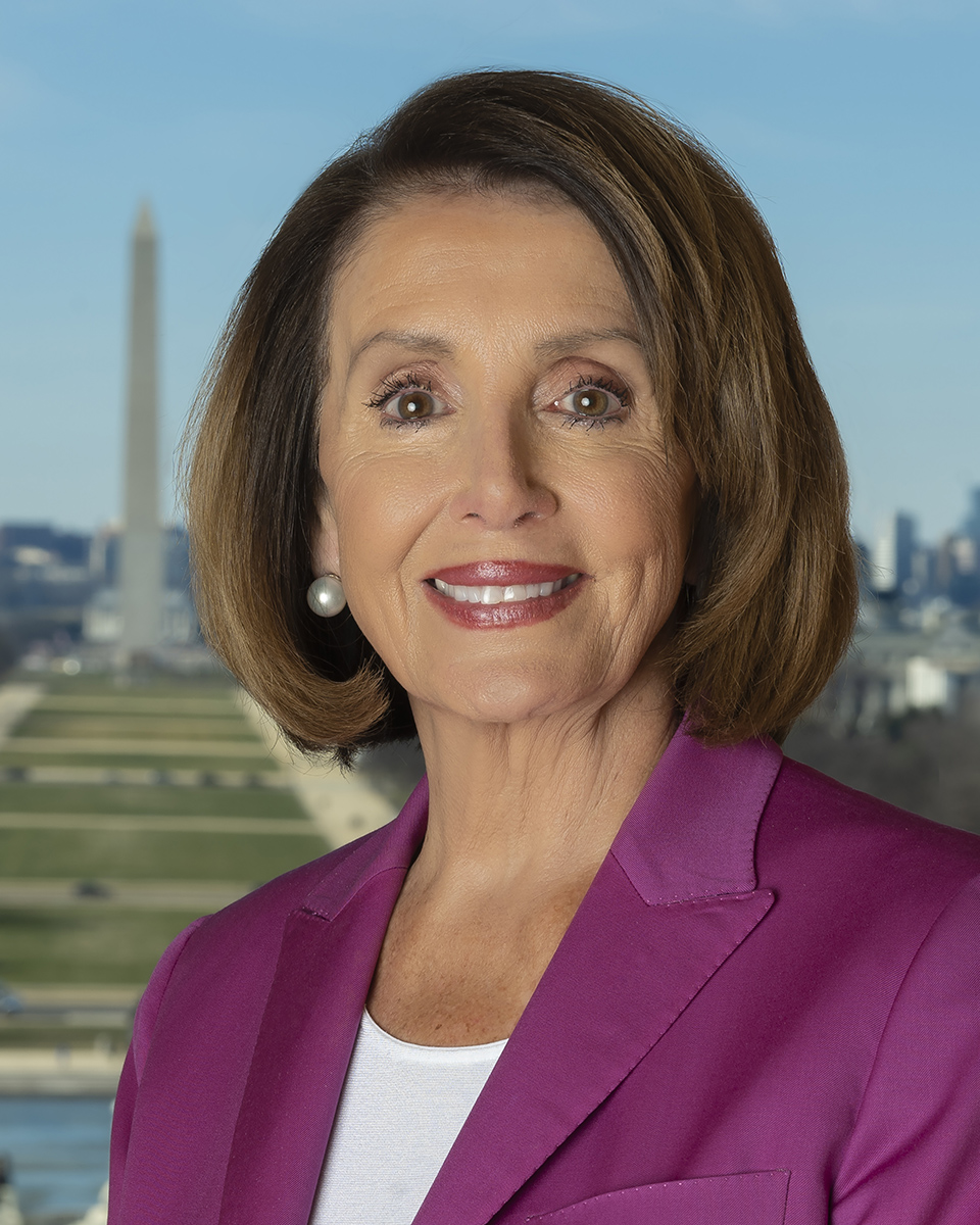 Nancy Pelosi - United States Speaker of the House of Representatives