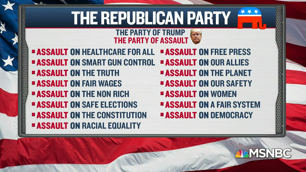 This is a video screenshot from an episode of MSNBC's Saturday Night Politics