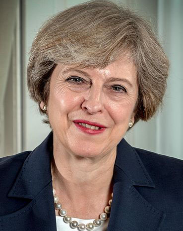 Theresa May of the United Kingdom