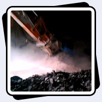AQ-4 on Doosan 225 Cutting Potash