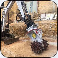 AQ1 on John Deere Mini Excavator in Australia0