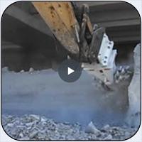 AQ-4 On CAT336 Cutting Limestone in near Dallas, Texas