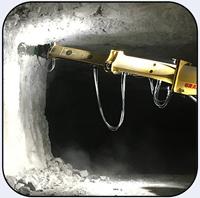 AQ3SCL on Gradall 7320 Scaling Underground Limestone Mine