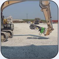 AQ4 with Rotation Unit Operating in Underground Limestone Mine.
