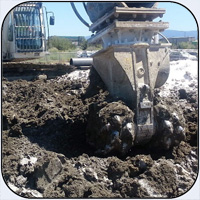 AQ-4SM Soil Stabilization in California.
