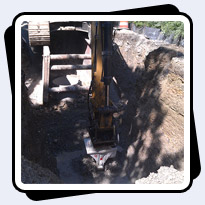 AQ-4XL on CAT349 Trenching 15,000-20,000 psi Limestone Indiana