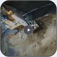 AQ-4XL on Liebherr 950T Excavating Metro Tunnel Extension in Washington DC