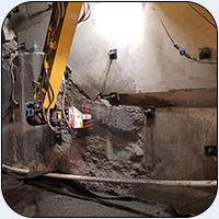 AQ1S Tunnel Liner Removal New Zealand