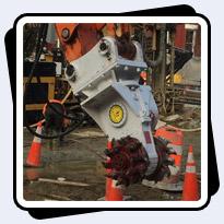 AQ2 on Doosan 140 Excavating Shaft for Washington DC Water Tunnel