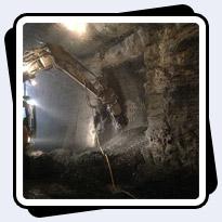 AQ-3XL Cutter working in Toronto Billy Bishop Tunnel