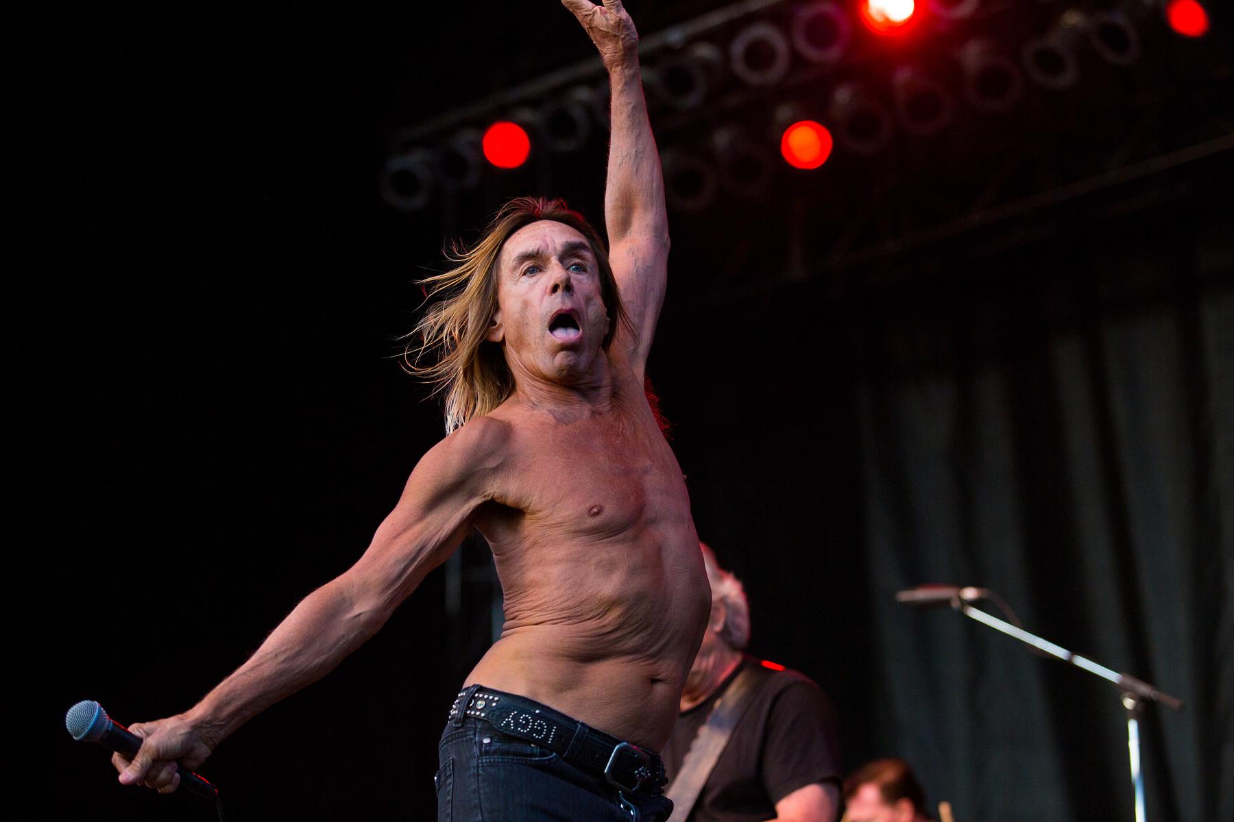 Iggy Pop // Riot Fest // Toronto
