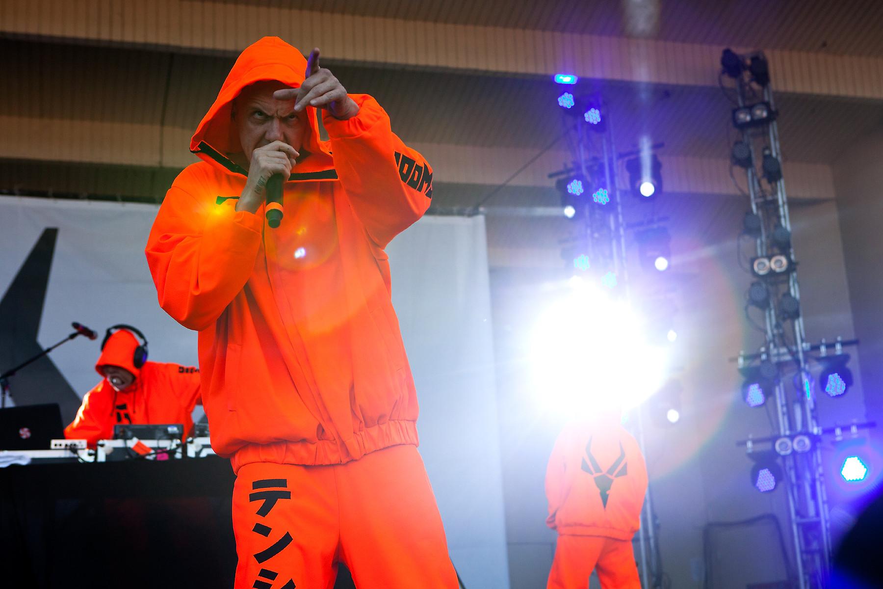 Die Antwoord @ Lollapalooza 2012