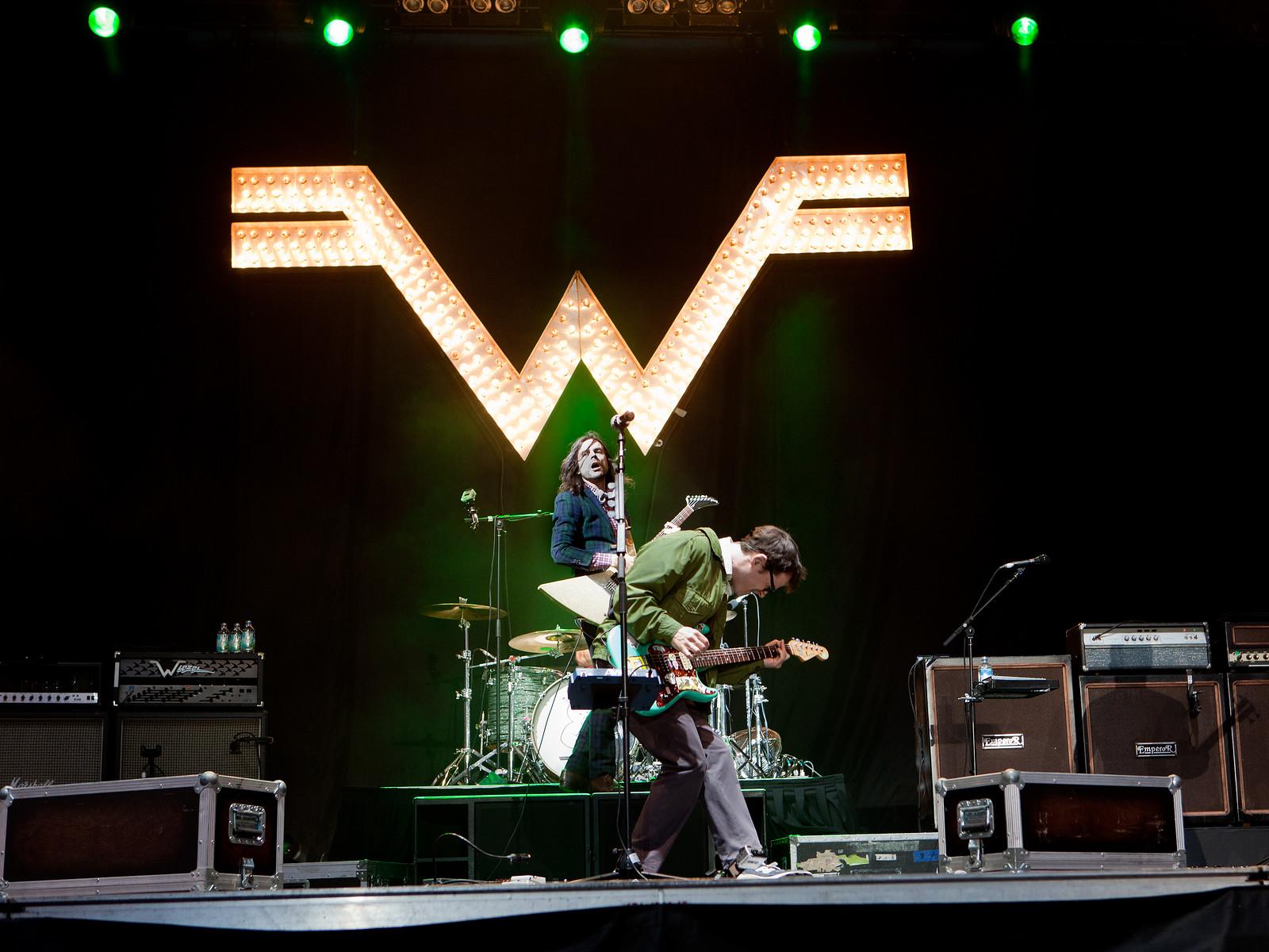 Weezer // Downsview Park // Toronto