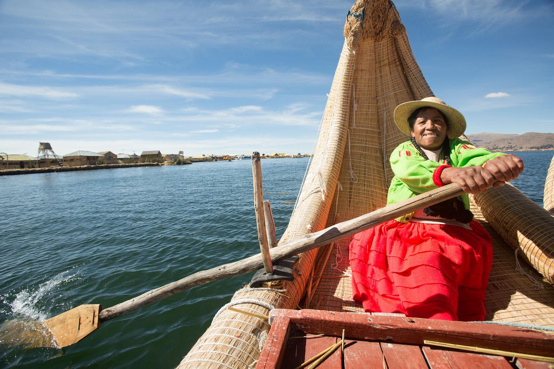 Uros Floating Islands // Peru