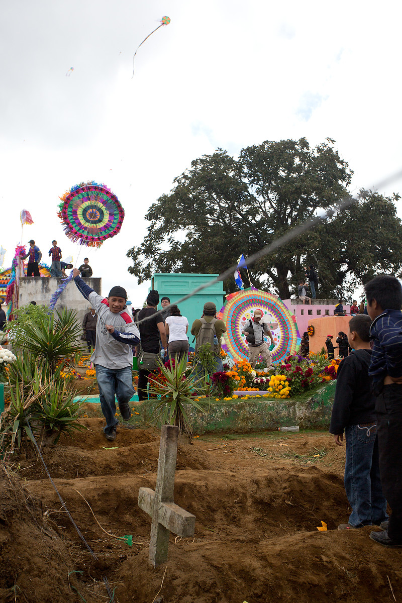 Santiago Sacatepequez // Guatemala // Kite Festival