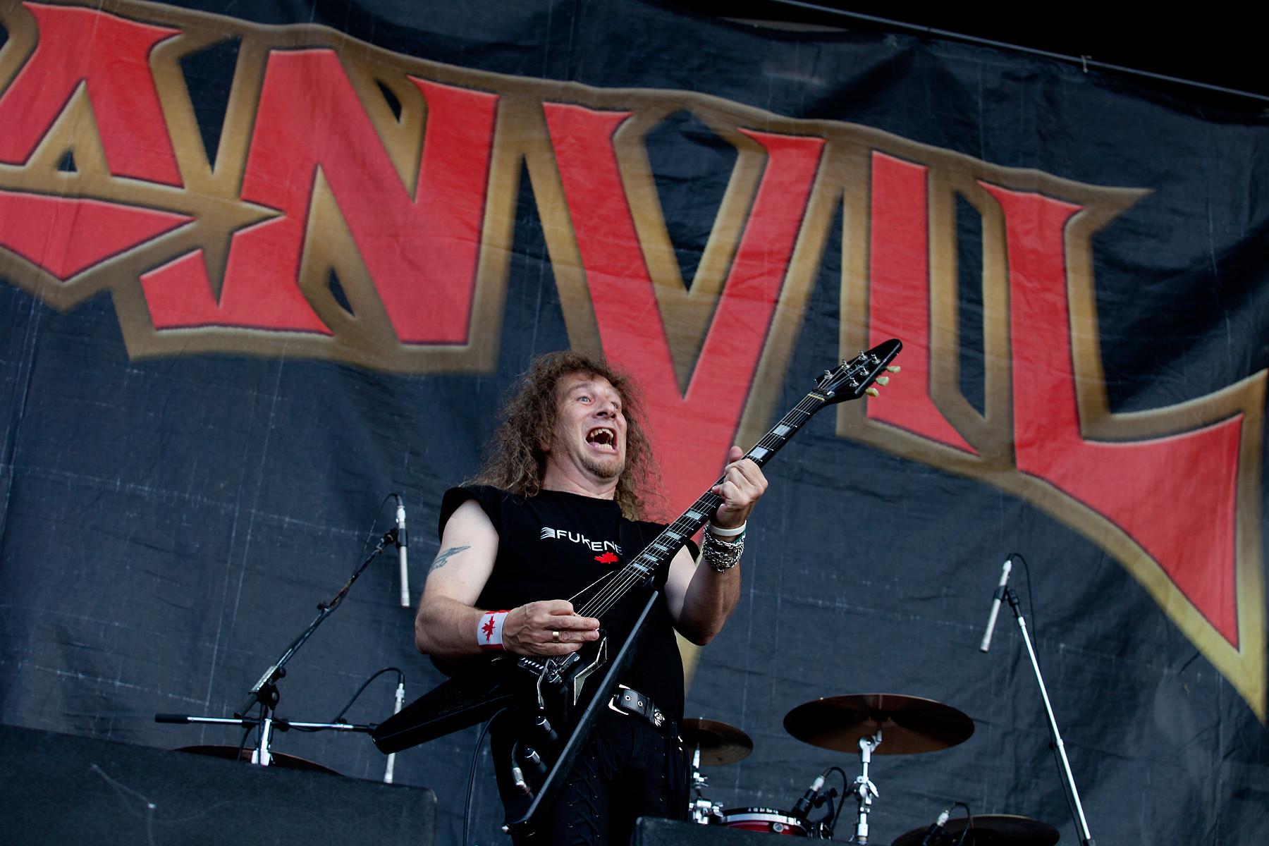 Anvil @ Heavy T.O. 2011