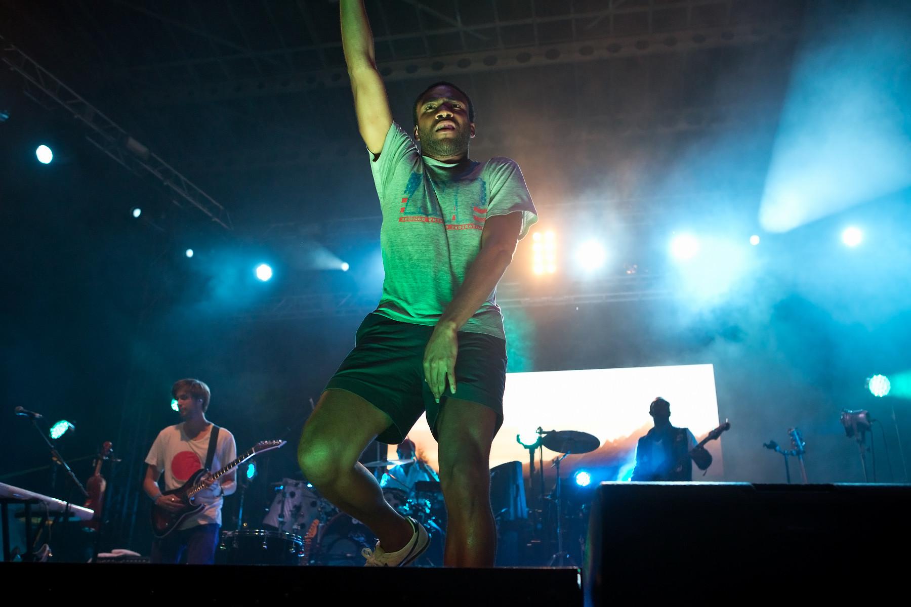 Childish Gambino @ Lollapalooza 2012