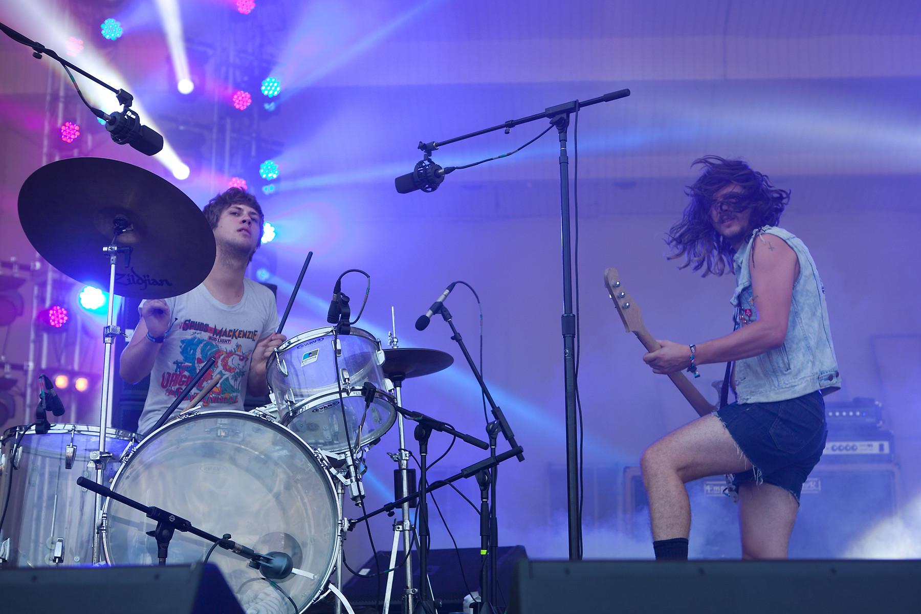 JEFF The Brotherhood @ Lollapalooza