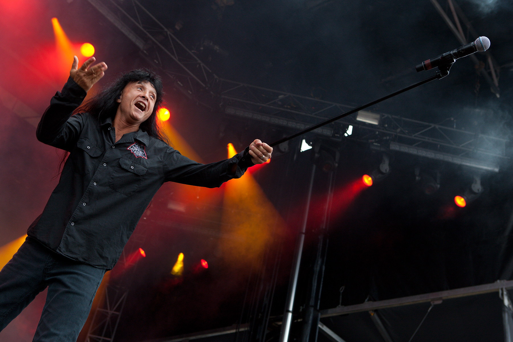 Anthrax @ Heavy T.O. 2011
